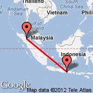 Medan (Polonia, MES) - Malang (Abdul Rahman Saleh, MLG)