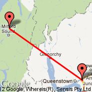 Milford Sound (MFN) - Queenstown (ZQN)