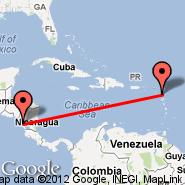 Managua (Augusto C Sandino, MGA) - Antigua (V. C. Bird Intl, ANU)