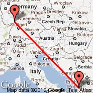 Mannheim (Mannheim Arpt, MHG) - Tirana (Rinas Mother Teresa, TIA)