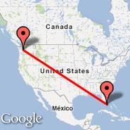 Miami (Miami International Airport, MIA) - Seattle (Seattle-Tacoma International, SEA)