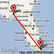 Miami (Miami International Airport, MIA) - Tallahassee (Tallahassee Regional Airport, TLH)