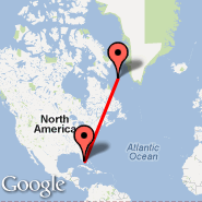 Miami (Miami International Airport, MIA) - Teniente R. Marsh Martin (TNM)