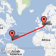 Milan (Metropolitan Area, MIL) - N. Sound/Virgin Gorda (Hovercraft/Launch Pt, NSX)
