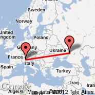 Milan (Metropolitan Area, MIL) - Lugansk (VSG)