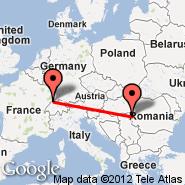 Basel Mulhouse Freiburg (EuroAirport, MLH) - Temišvar (Giarmata, TSR)