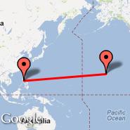 Manila (Ninoy Aquino Intl, MNL) - Kapalua/Maui (Kapalua West Maui, JHM)
