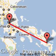 Manila (Ninoy Aquino Intl, MNL) - Legaspi (Legazpi, LGP)