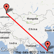 Manila (Ninoy Aquino Intl, MNL) - Astana (TSE)