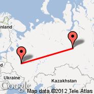 Moskva (Metropolitan Area, MOW) - Surgut (SGC)