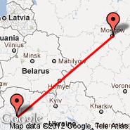 Moskva (Metropolitan Area, MOW) - Ternopil (Ternopol, TNL)