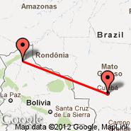 San Matias (MQK) - Cuiaba (Intl. Airpt. Marechal Rondon, CGB)
