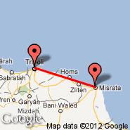 Misurata (MRA) - Tripoli (International, TIP)