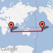 Mauricijus (Sir Seewoosagur Ramgoolam Int, MRU) - Papeete (PPT)