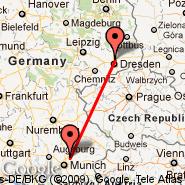 München (Franz Josef Strauss, MUC) - Dresden (Dresden Arpt, DRS)