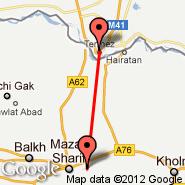 Mazar-i-sharif (MZR) - Termez (TMJ)