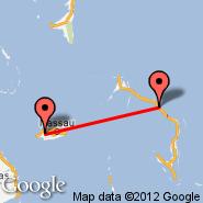 Nassau (Nassau International, NAS) - Cape Eleuthera (CEL)