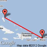 Nassau (Nassau International, NAS) - Tortola/Beef Island (Beef Island, EIS)