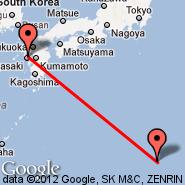 Nagasaki (NGS) - Iwo Jima (Iwo Jima Airbase, IWO)
