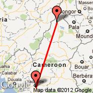 Yaounde (Nsimalen International, NSI) - Garoua (GOU)