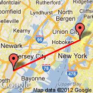 New York (Metropolitan Area, NYC) - Newark (Newark Liberty International, EWR)