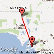 Oodnadatta (ODD) - Adelaide (Adelaide International Airport, ADL)