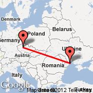 Odessa (Odessa International, ODS) - Prag (Prague - Ruzyne International, PRG)