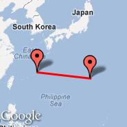 Okinawa (Naha, OKA) - Iwo Jima (Iwo Jima Airbase, IWO)