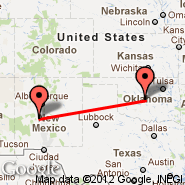 Oklahoma City (Will Rogers World Airport, OKC) - Socorro (Socorro Municipal Airport, ONM)
