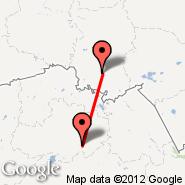 Omsk (Tsentralny, OMS) - Astana (TSE)