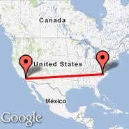 Ontario (Ontario International, ONT) - Raleigh/Durham (Raleigh-durham International Airport, RDU)