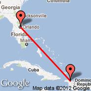Orlando (Orlando Executive, ORL) - Fort Jefferson (RBN)