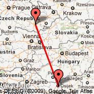 Osijek (OSI) - Brno (Turany, BRQ)