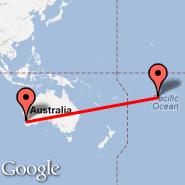 Perth (Perth International, PER) - Bora Bora (Motu-mute, BOB)