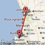 Perth (Perth International, PER) - Bussellton (BQB)