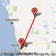 Perth (Perth International, PER) - Mount Magnet (MMG)