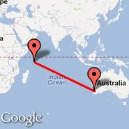Perth (Perth International, PER) - Mahe (Seychelles International Airport, SEZ)