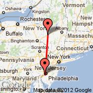 Philadelphia (Philadelphia International, PHL) - Oneonta (Municipal, ONH)