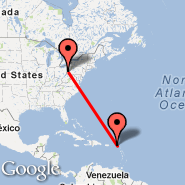 Pittsburgh (Pittsburgh International, PIT) - Anguilla (Wallblake, AXA)