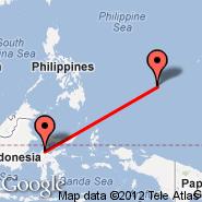 Palu (Mutiara, PLW) - Yap (Yap International, YAP)