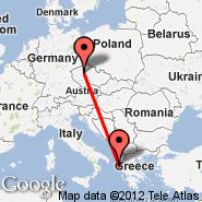 Prague (Prague - Ruzyne International, PRG) - Corfu (Ioannis Kapodistrias, CFU)