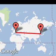Pisa (Galileo Galilei, PSA) - Pyongyang (Sunan International, FNJ)