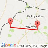 Polokwane (Polokwane International Airport, PTG) - Ellisras (ELL)