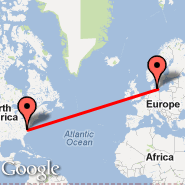 Raleigh/Durham (Raleigh-durham International Airport, RDU) - Copenhagen (Kastrup, CPH)