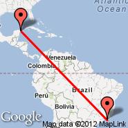 Rio de Janeiro (Metropolitan Area, RIO) - Cancun (Cancún International, CUN)