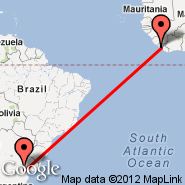 Monrovia (Roberts Intl, ROB) - Buenos Aires (Metropolitan Area, BUE)