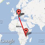 Rim (Metropolitan Area, ROM) - Mbeya (MBI)