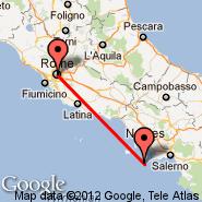 Rim (Metropolitan Area, ROM) - Capri (PRJ)