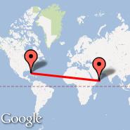 Fort Myers (Southwest Florida Reg, RSW) - Socotra (Socotra International Airport, SCT)