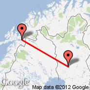 Rovaniemi (RVN) - Narvik (Framnes, NVK)